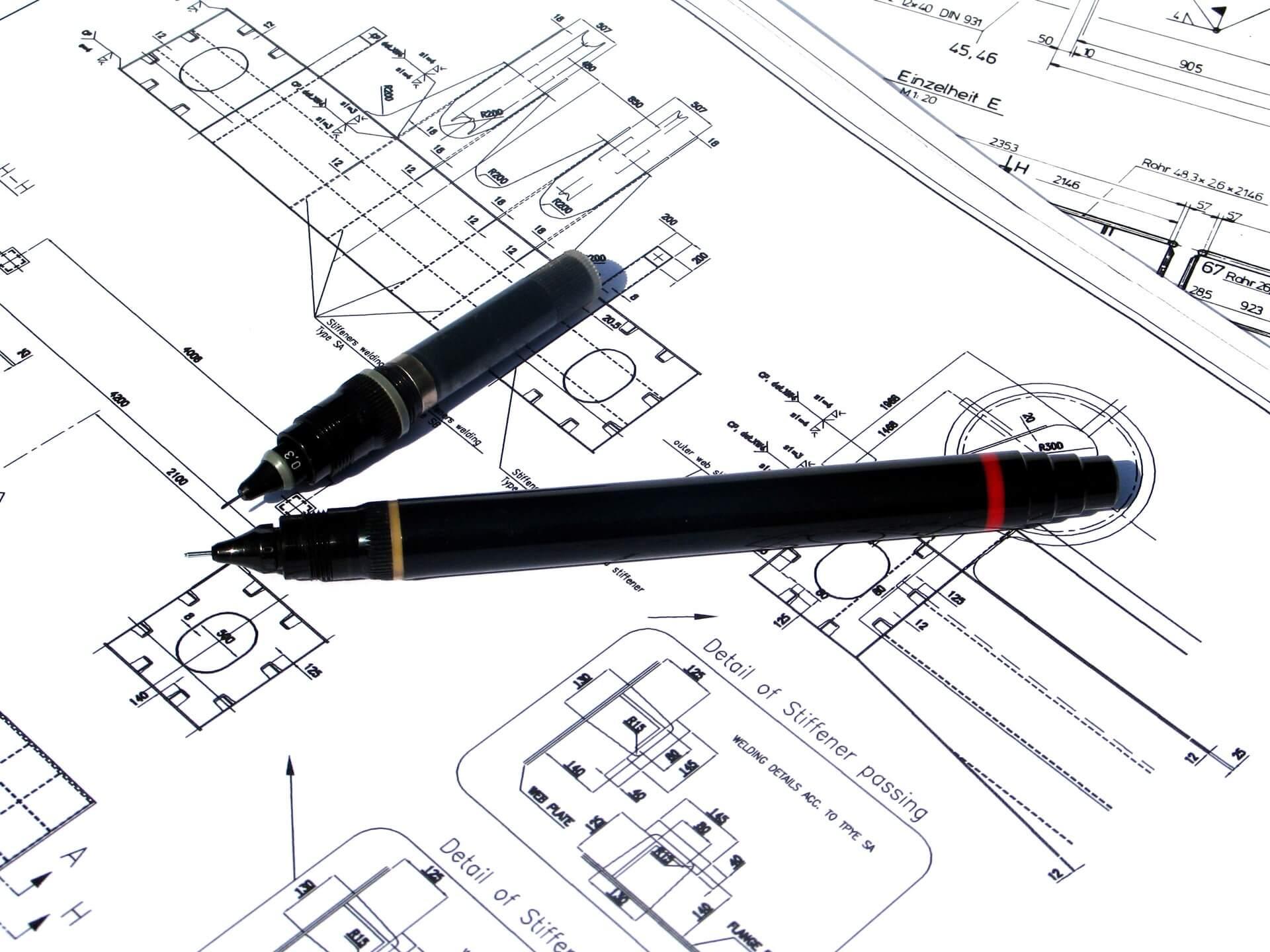 Rysunek techniczny projekty architektoniczne